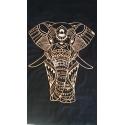 Elefante mandala diseño