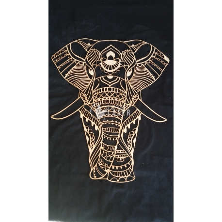 Mandala elephant design