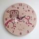 Owl clock design