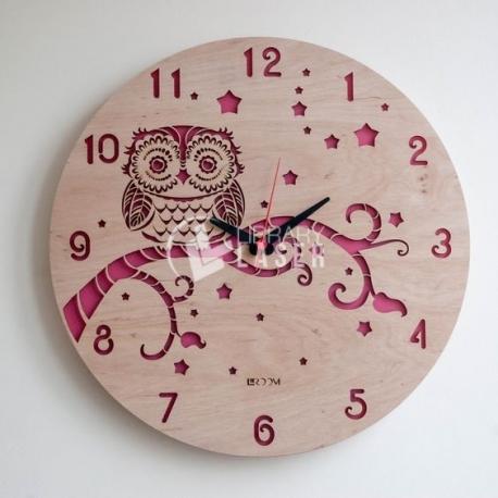 Reloj búho diseño