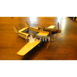 Avión Mustang diseño