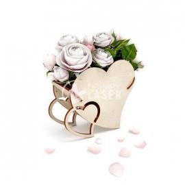 Flowers basket design