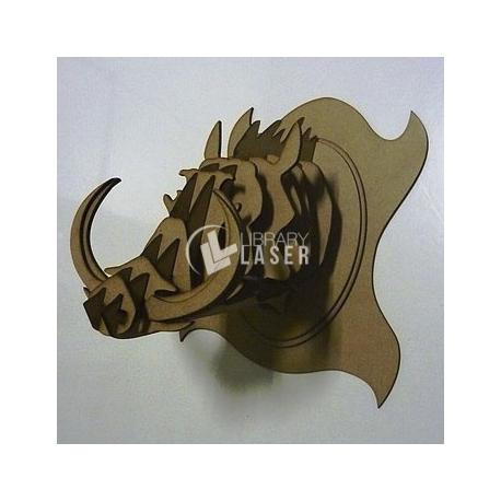 Boar head design