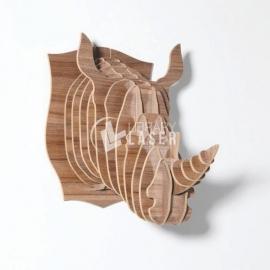 Cabeza de rinoceronte diseño
