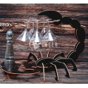 Scorpion mini bar design