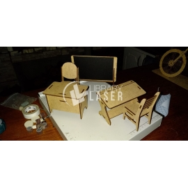 Mobiliario escolar diseño