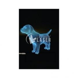 Dog engraving design