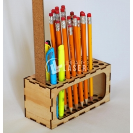 Pencils holder design