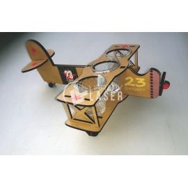 Soporte copas avión diseño