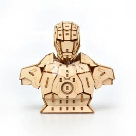 Iron Man 3D diseño