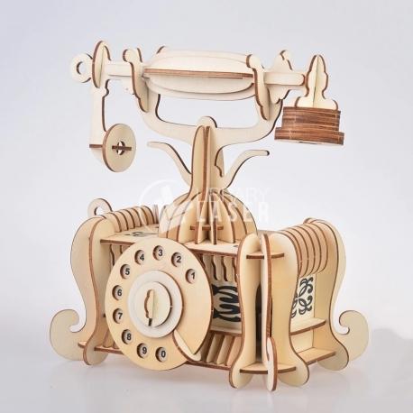 Teléfono antiguo diseño