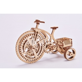 Mechanical tricycle design