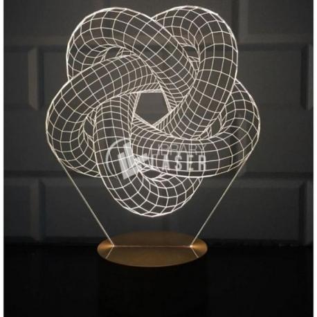Lámpara 3d diseño