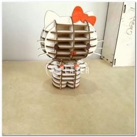 Hello Kitty 3d diseño