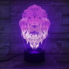 Grabado león diseño
