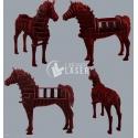 Mesa caballo Diseño
