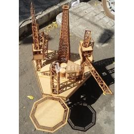 Oil rig design