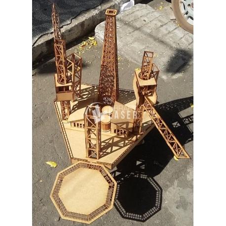 Plataforma petrolera diseño
