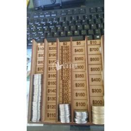 Contador de monedas diseño