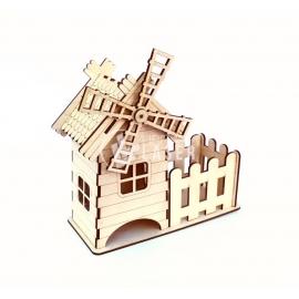 Diseño molino de viento