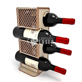 Porta vinos diseño