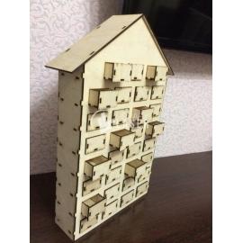 Casa cajonera diseño