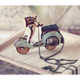 Mini vespa scooter diseño