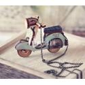 Mini vespa scooter design