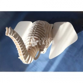 Elephant head design