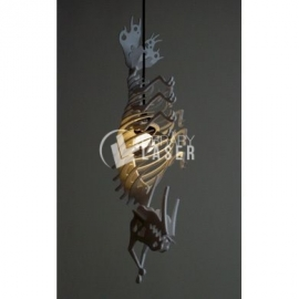 Lámpara monstruo diseño
