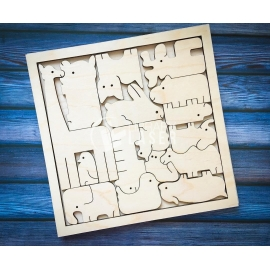 Puzzle for kids design