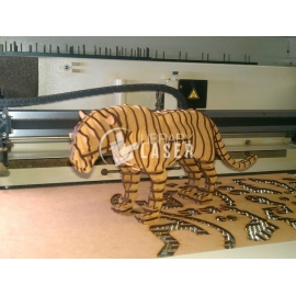 Tigre 3d diseño