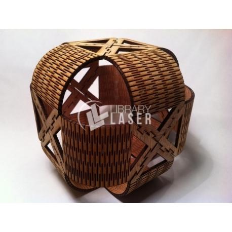 Wooden gift box design