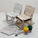 Calendar chair design
