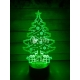 Christmas tree engraving design