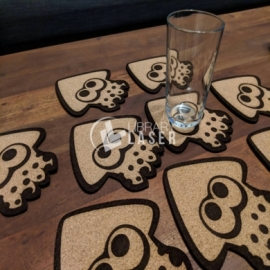 Squid glass holder design