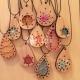 Handmade necklace design