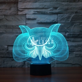 Owl lamp design