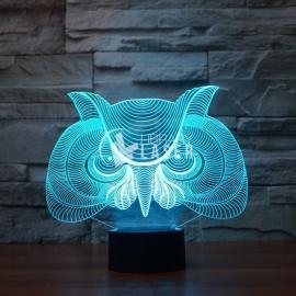 Lámpara búho diseño