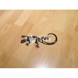 Diseño lagarto tribal