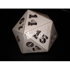 20-sided dice design