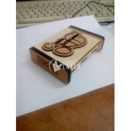 Caja de regalo de unidad flash diseño