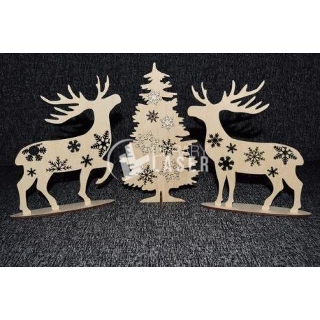 Decoración navideña diseño