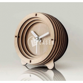 Reloj 3d diseño