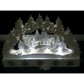 Adornos navideños lámpara diseño