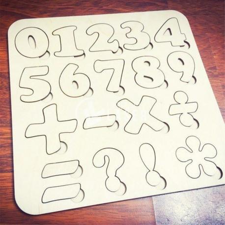 Math number design