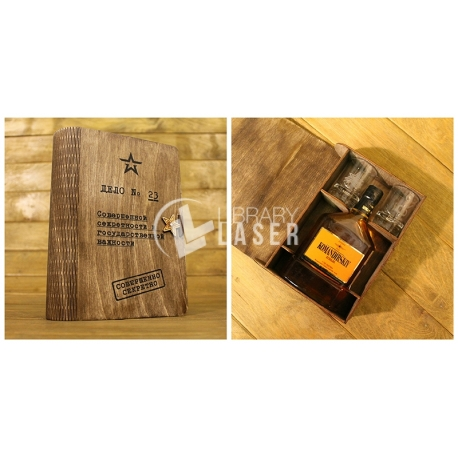 Whiskey box design