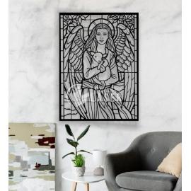 Cuadro ángel diseño