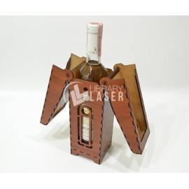 Porta vino diseño