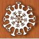 Covid star design